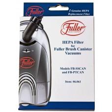 Fuller Brush Pleated HEPA Filter for Full Size Canisters