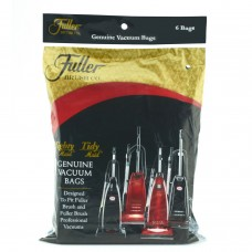 6-Pack Paper Vacuum Bags for Uprights