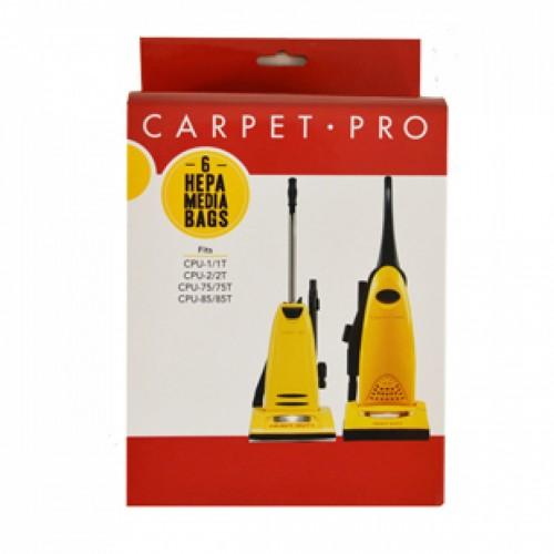 Carpet Pro HEPA Vacuum Bags - 6pk