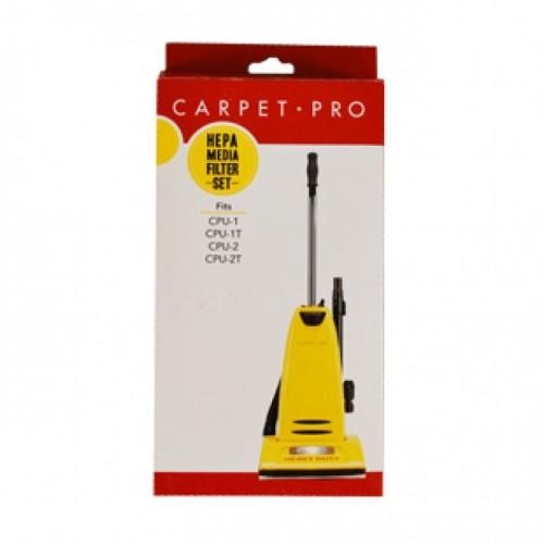 Carpet Pro HEPA Vacuum Filter Set